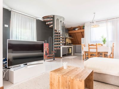 Photo for Double-room apartment, with balcony and free Wi-fi, parking available on site