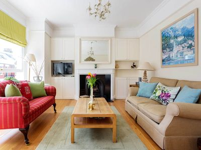 Photo for Cosy and bright 2BR with private roof terrace nearby Fulham Palace, by Veeve