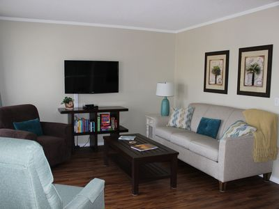 Photo for Steps to beach in gated resort - Great amenities - Managed by Owner