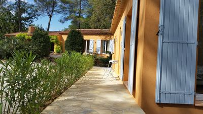 Photo for Double villa on an area surrounded by vineyards, olive trees and pines