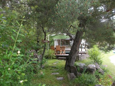 Photo for Mobile home on the mountain property has barcelonnette