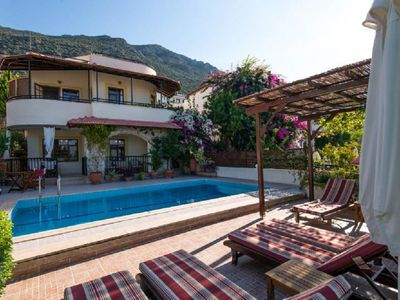 Photo for Traditional villa, 3 Bedrooms, private pool, sea & sunset views