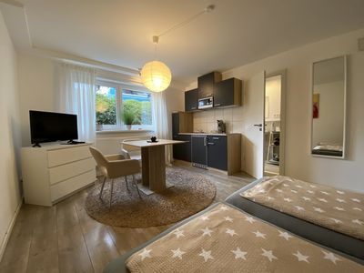 Photo for Charming studio apartment ** Speyer ** conveniently located on the outskirts of the city