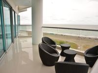 This is a beautiful, clean apartment. It was perfect for six people. It's within the Sonesta Hotel,