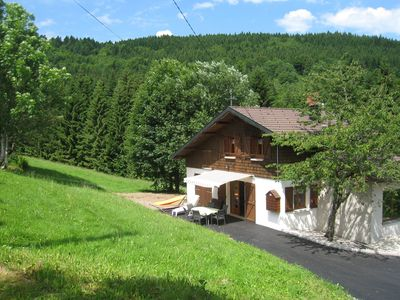 Photo for Charming Chalet in Ventron with Terrace