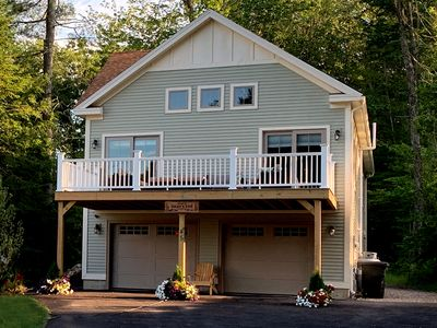 Photo for New 2300 SF, 3 Bdrm, 3.5 Bath Vacation Home Steps from Highland Lake