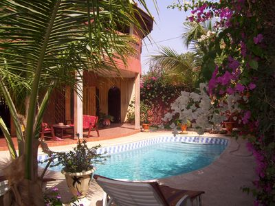 Photo for 30 M FROM THE SEA FLOWER TERANGA CHARMING HOUSE with PRIVATE POOL