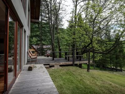 Photo for Fab house next to the National Park. Modern, cozy place with its own smokehouse!