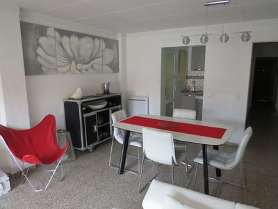 Photo for CAT. Apartment in Roses center at 250m from the beach in perfect condition.