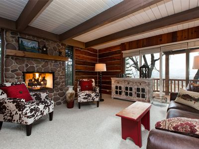 Photo for Charming & Spacious Cabin in Midway – Sleeps 15