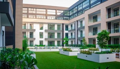 Luxury Serviced Apartment, with 24/7 Security