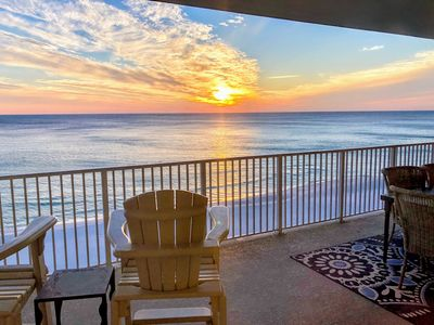 Photo for Updated Luxury BeachFront 4/4 - Spacious spectacular Deck with Epic Sunsets