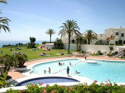 Photo for Estepona-Villacana. Nice apartment near the sea and pools