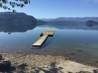 Photo for Shuswap Lake Full 2 Suites, 1000' of Patios,Hot Tub,Waterfront Park, Boat Launch
