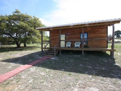 Photo for Walt's Cabin 1 - Country property just past Luckenbach Texas