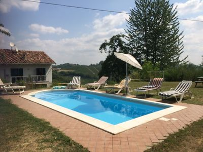 Photo for Typical country house with pool and unique views