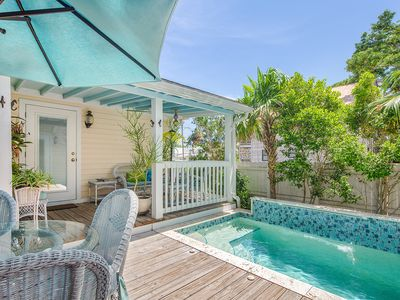 ~ COPA CABANA ~ Cute Conch Home w/ Pvt Pool In Old Town. Live Like A Local!