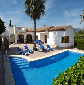 Photo for Beautiful Villa, WIFI, Air-conditioning, Private pool, not overlooked, 8 people