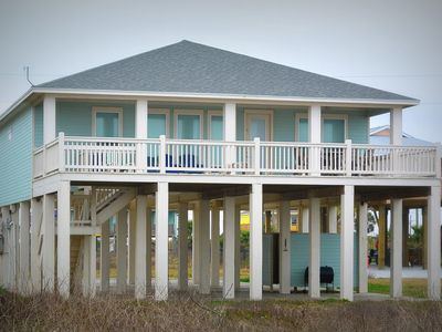 Photo for Surf and Sand - Beachfront, exceptional views and easy beach access!!
