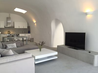 Photo for Our Island OASIS  (3000 sq ft of Living Space) Walk to Fira!