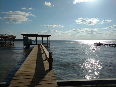 Photo for Newly-Renovated Large Home With Boat Dock and Picture Perfect Sunsets Sleeps 14