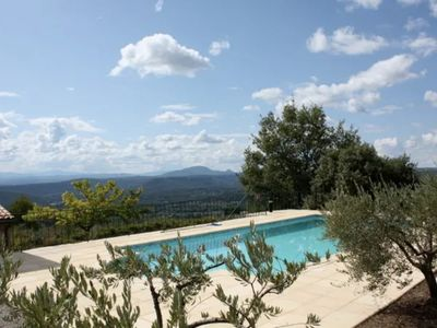 Photo for Villa Grande - Spacious and charming villa located in the Tourtour hills.