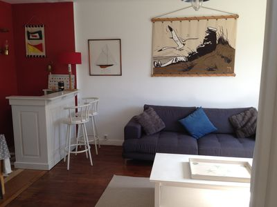 Photo for DINARD Neat house close to beach and city center