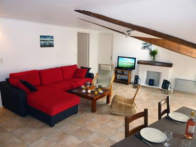 "Photo for Discover ""Le Loft"": a large quiet apartment in the center of Nice, 70 m2"