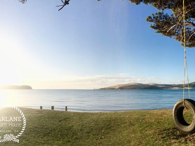 Photo for Stunning beach house located right on the beach in the heart of the Hokianga.