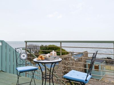 Photo for Idyllic family holiday home on the beach in Lower Largo, Fife near St Andrews