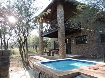 Photo for Umvangazi Rest – Relax under the African Kiaat tree in the bushveld
