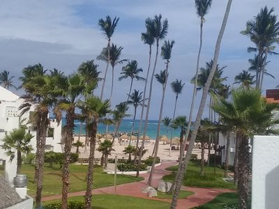 Photo for Beach Front Condo Stanza Mare Bavaro, Punta Cana