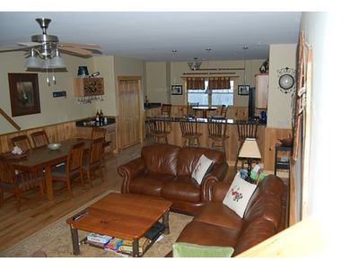 Photo for Spacious 4 BR-4 BA sleeps 14 Comfortably. Short walk to Snubber Trail
