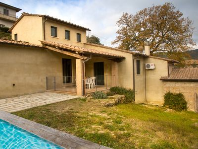 Photo for Beautiful Villa with private pool 100 KM from Rome