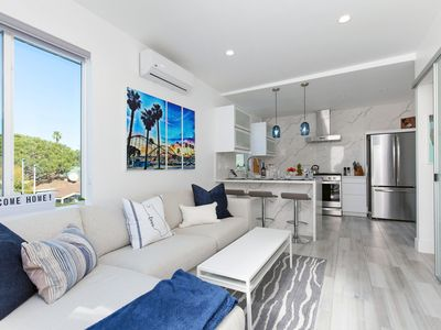 Photo for Steps to Mission Beach and Boardwalk! Sleek Renovated Retreat