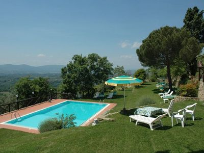 Photo for 6 bedroom Apartment, sleeps 12 in Pian di Scò with Pool and WiFi