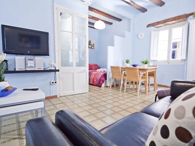 Photo for Two bedroom apartment in heart of Barcelona