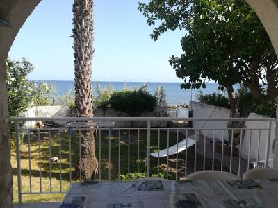 """Photo for """"VIROA"""" VILLA ON THE SEA WITH GARDEN IN SYRACUSE"""