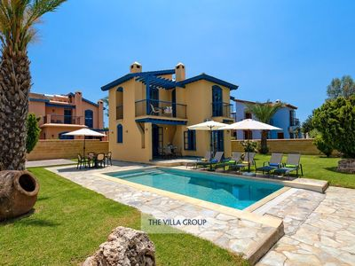 Photo for Latchi Villa, Sleeps 6 with Pool, Air Con and WiFi