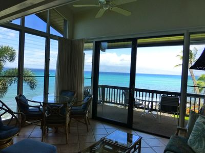 Photo for Paradise on the Ocean's Edge - Oceanfront views from every room!