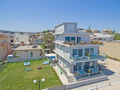 Photo for New, Modern, Beachfront, Next to all amenities, No car needed, Splendid View