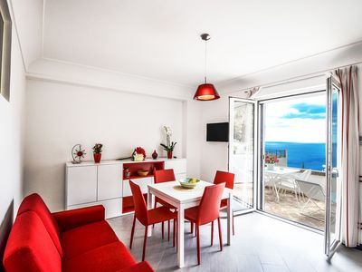 Photo for Positano rental for 4 with sea view