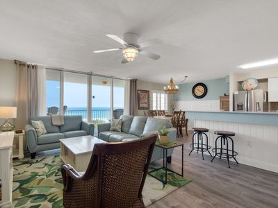 Photo for 2 King Beds, Beachfront, Direct Gulf View, Free Beach Service