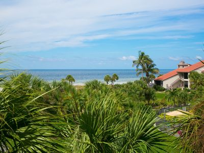 Photo for NEW LISTING! Updated 2 Bedroom, 2 Bath Gulf View with 2 Lanais!