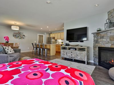 Photo for The Brit Suite at Killington: Sleep 10 in Luxurious Remodeled Condo. Close to Mountain. 541/2
