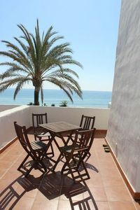 Photo for Estepona-Villacana. Apartment with direct sea views