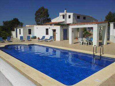 Photo for New Owners, try our beautiful villa with heated 11mx5m pool.15min to beach/golf