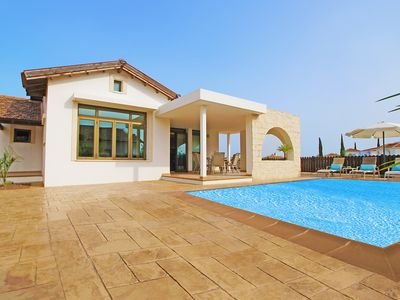 Photo for This 2-bedroom villa for up to 4 guests is located in Ayia Napa and has a private swimming pool, air