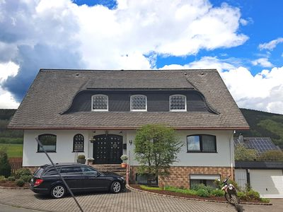 Photo for Large, comfortable apartment in Olsberg in the Sauerland with covered balcony