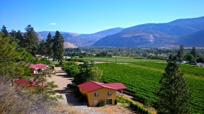 Photo for exclusive, 1 BR guest house overlooking vineyard